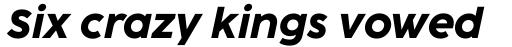 Coco Sharp XL Extrabold Italic sample