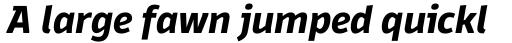 Domotika Pro Bold Italic sample