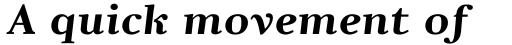 Pyke Micro Bold Italic sample