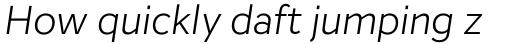 Inter Light Italic sample