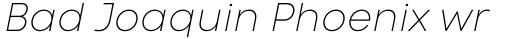 Code Next Thin Italic sample
