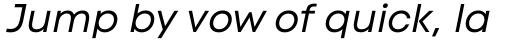 Code Next Regular Italic sample