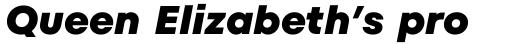 TT Fors ExtraBold Italic sample