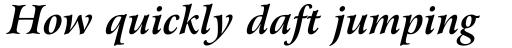 Arrus BT Std Bold Italic sample
