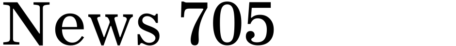 Click to view  News 705 font, character set and sample text