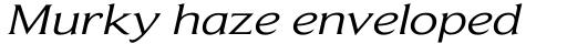 Beaufort Extended Italic sample