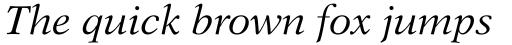 Dutch 823 Std Italic sample