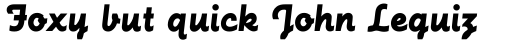 Futura Script EF sample