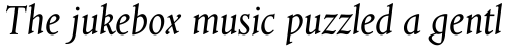 Aries Italic sample