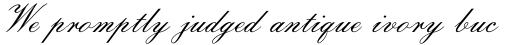 Florentine Script II Regular sample
