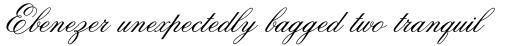 Old Fashion Script Regular sample