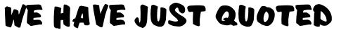 Davison Zip Bold sample