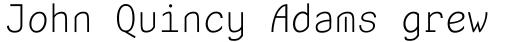 Unotype Regular sample