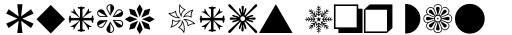 Monotype Sorts Pi sample