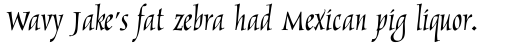 Marigold Regular sample