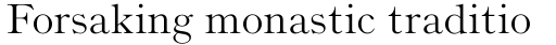 Monotype Old Style Regular sample