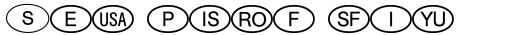 International Symbols P01 sample