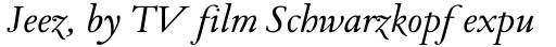 Pavane Italic sample