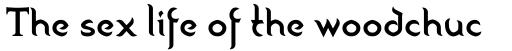 Peregrine-Regular sample