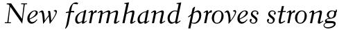 Elante Cursiv sample