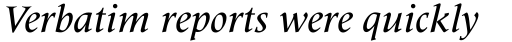 Latin 725 Medium Italic sample