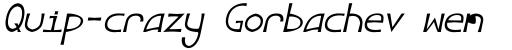 Angelus III Italic sample