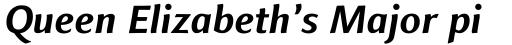 Finnegan Bold Italic sample