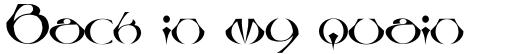 Linotype Besque Regular sample