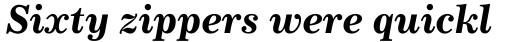 Century 731 Std Bold Italic sample