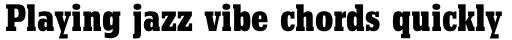 Beton Pro Bold Condensed sample