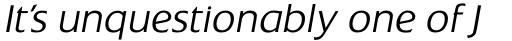 Extension RR Light Italic sample