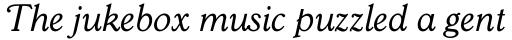 Goudy 38 Book Italic sample
