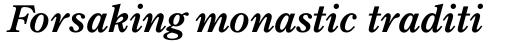 TC Century New Style Medium Italic sample