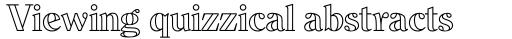 Dominus RR Modern Open sample