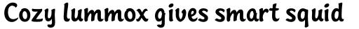 Sinclair Script RR Medium sample