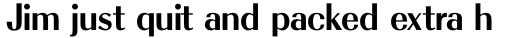 Radiant RR Bold sample