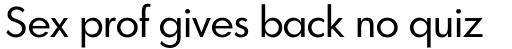 Graphicus DT Regular sample