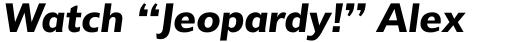 Delargo DT DemiBold Italic sample