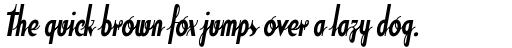 Soda Script Bold sample