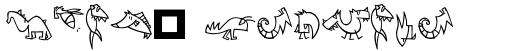 Linotype Creatures Regular sample