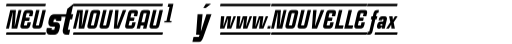 Case Study No One Black Italic Alternate sample
