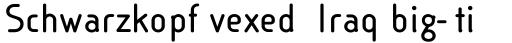 Linotype Cineplex Bold sample