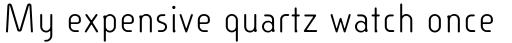 Linotype Cineplex Regular sample