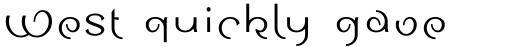 Sinah Sans Com Roman sample