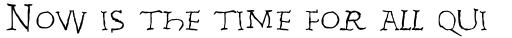 Linotype Invasion Rex sample