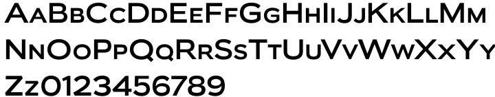 Biondi Sans Font Sample