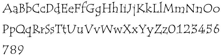 ITC Tempus® Font Sample