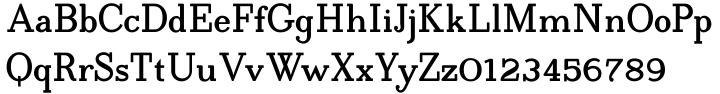 Egyptia Font Sample