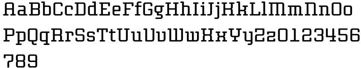 Thousands™ Font Sample