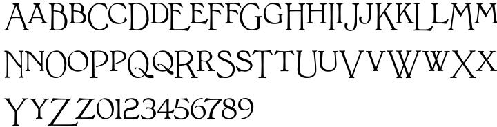 Bonaventure™ Font Sample